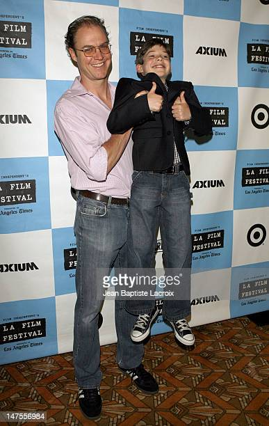 George Ratliff Director and Jacob Kogan during 2007 Los Angeles Film Festival Joshua Premiere at National Theater in Westwood California United States