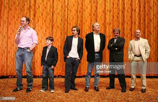 George Ratliff director Jacob Kogan Sam Rockwell Michael McKean Jonathon Dorfman producer and Temple Fennell producer