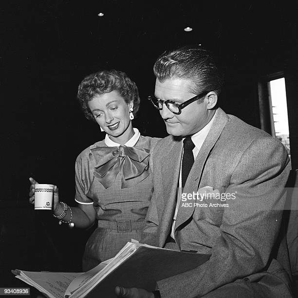 SUPERMAN George Reeves stars as Superman with Noel Neill as Lois Lane