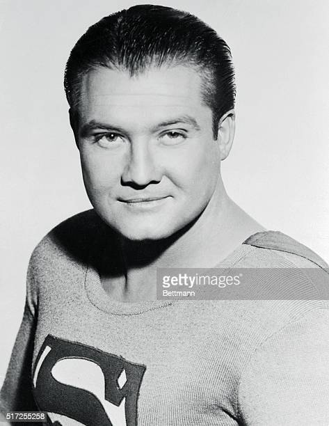 George Reeves, the television star in ABC TV's Superman, series is shown in this photograph.