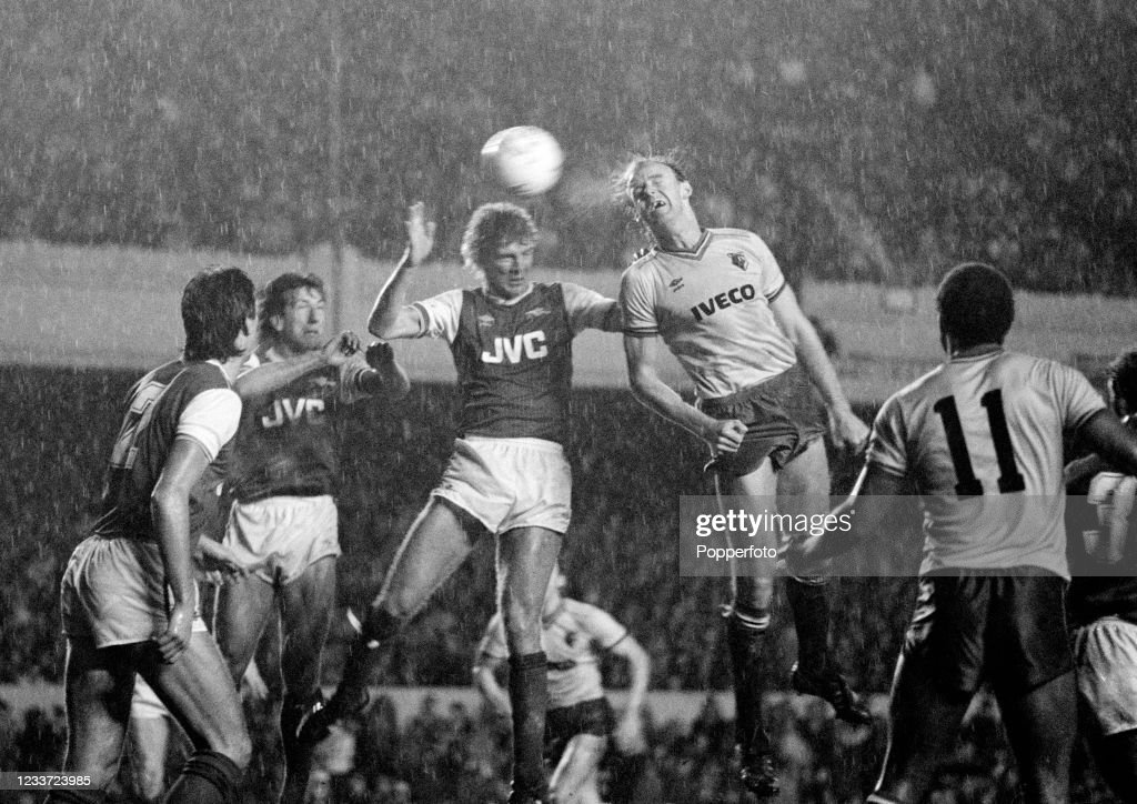Arsenal v Watford - Canon League Division One : News Photo