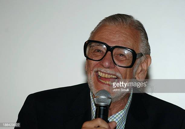 George Romero director of 'Land of The Dead' during CineVegas Film Festival 2005 George Romero Vanguard Award at Brenden Theatres in Las Vegas Nevada...