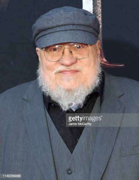 """George RR Martin attends the """"Game Of Thrones"""" Season 8 Premiere on April 03, 2019 in New York City."""