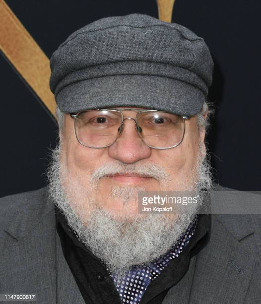 """George R.R. Martin attends the LA Special Screening Of Fox Searchlight Pictures' """"Tolkien"""" at Regency Village Theatre on May 08, 2019 in Westwood,..."""