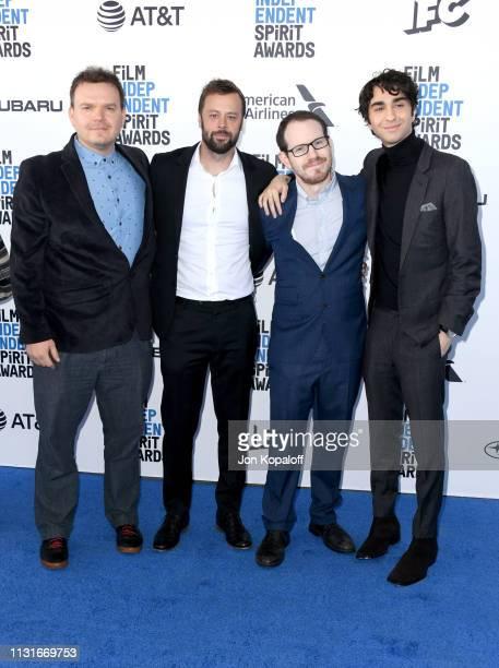 George Rush Lars Knudsen Ari Aster Alex Wolff attend the 2019 Film Independent Spirit Awards on February 23 2019 in Santa Monica California