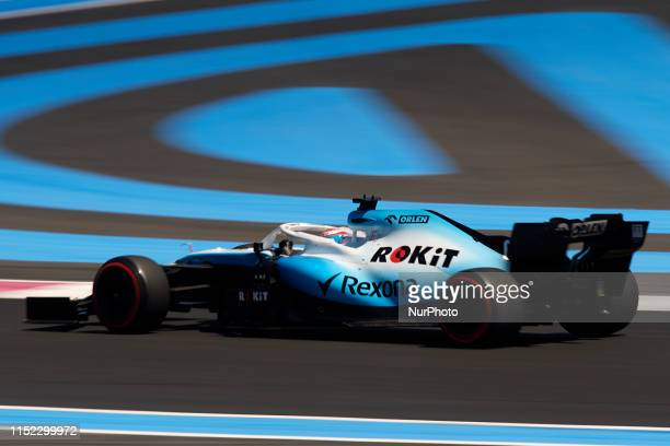George Russell of United Kingdom driving the Williams Racing FW42 during the Pirelli GP de France 2019 at Circuit Paul Ricard on June 22, 2019 in Le...