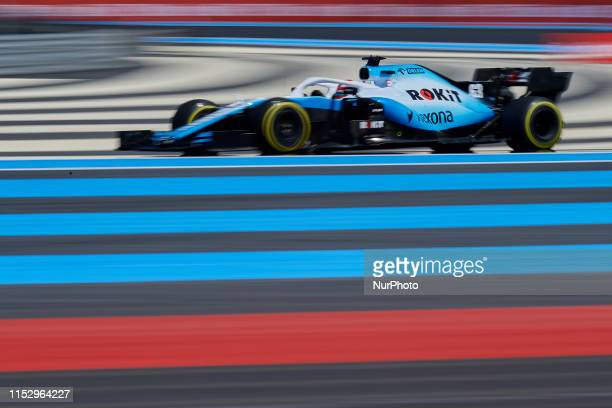 George Russell of United Kingdom driving the Williams Racing FW42 during the Pirelli GP de France 2019 at Circuit Paul Ricard on June 21, 2019 in Le...