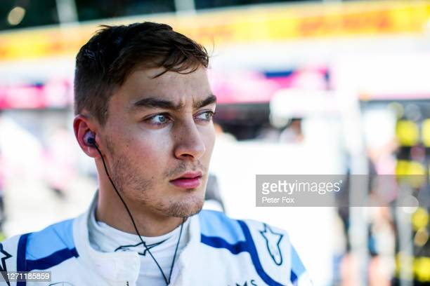 George Russell of Williams and Great Britain during the F1 Grand Prix of Italy at Autodromo di Monza on September 06, 2020 in Monza, Italy.