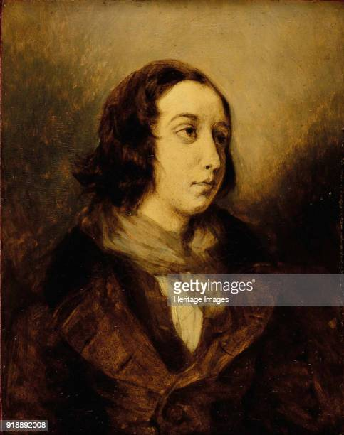 George Sand dressed as a man 1834 Private Collection