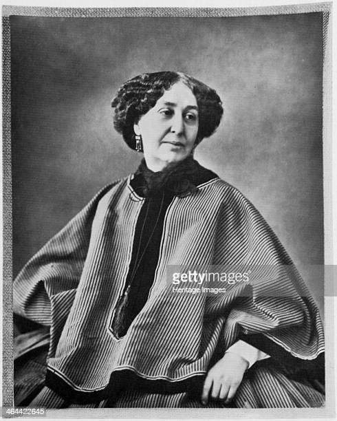 George Sand French author 1864 1864 Portrait of Amandine Aurore Lucie Dupin whose penname was George Sand Married at 18 after nine years she left her...