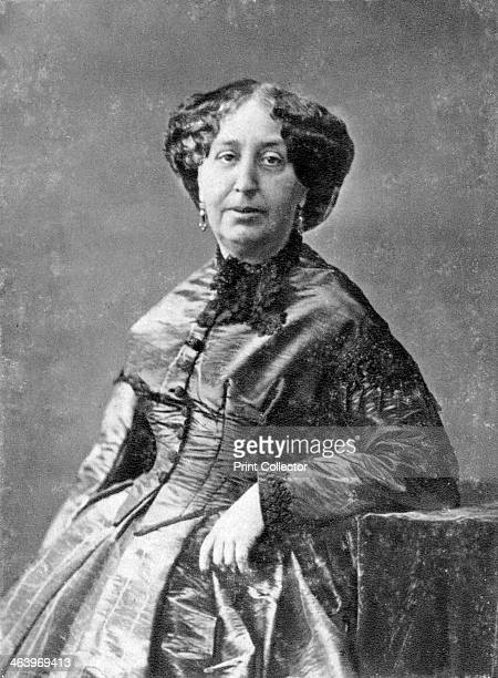 George Sand French novelist and early feminist c18451876 Portrait of Amandine Aurore Lucie Dupin whose penname was George Sand Married at 18 after...