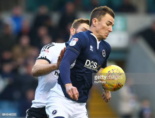 George Saville of Millwall during Sky Bet Championship match between Millwall against Sheffield United at The Den on 2 Dec 2017