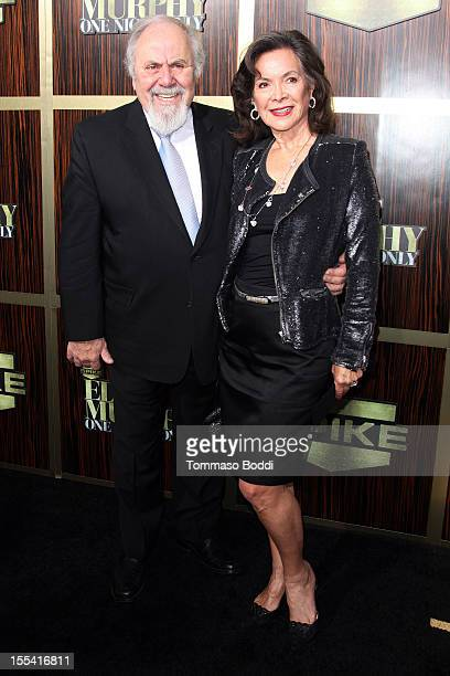 George Schlatter and Jolene Brand attend the Spike TV's Eddie Murphy One Night Only held at the Saban Theatre on November 3 2012 in Beverly Hills...