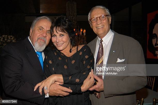 George Schlatter Michele Lee and Stanley Frileck attend Nikki Haskell Dinner at Nikki Haskell Penthouse on January 13 2006 in Beverly Hills CA