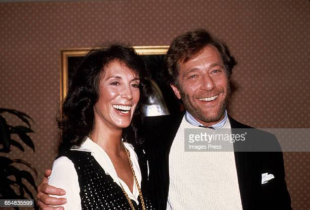 George Segal and his wife Marion attend a screening of Carbon Copy circa 1981 in New York City