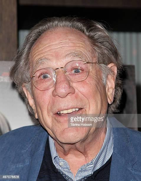 George Segal attends the screening and reception for sundance selects' '45 Years' at iPic Westwood on November 13 2015 in Westwood California