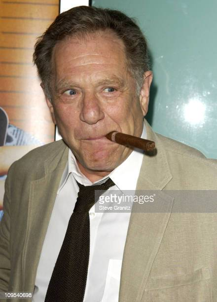 George Segal during Dickie Roberts Former Child Star Premiere at Arclight Theater in Hollywood California United States