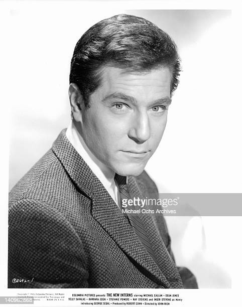 George Segal publicity portrait for the film 'The New Interns', 1964.