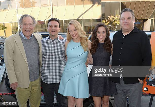 George Segal, Troy Gentile, Wendi McLendon-Covey, Hayley Orrantia and Jeff Garlin attend The Paley Center For Media Presents The Goldbergs: Your TV...