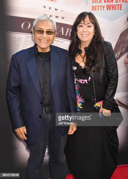 George Shapiro and Aimee Hyatt at the LA Premiere of If You're Not In The Obit Eat Breakfast from HBO Documentaries on May 17 2017 in Beverly Hills...