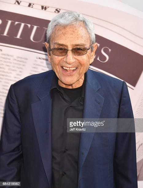 George Shapiro at the LA Premiere of If You're Not In The Obit Eat Breakfast from HBO Documentaries on May 17 2017 in Beverly Hills California