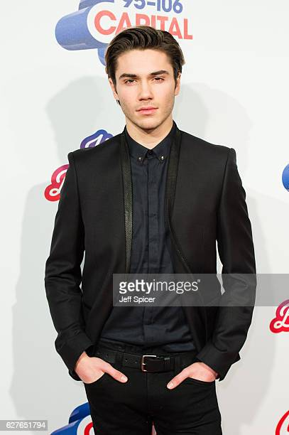 George Shelley attends Capital's Jingle Bell Ball with CocaCola on December 4 2016 in London United Kingdom