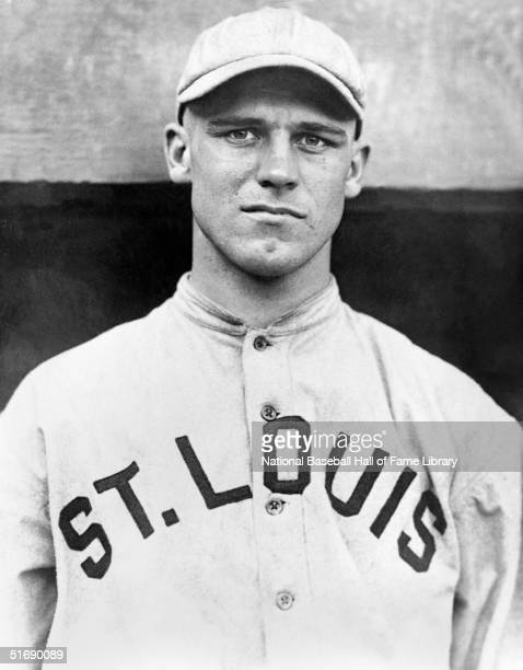 George Sisler of the St Louis Brown poses a portrait George Sisler played for the St Louis Browns from 19151927