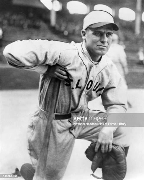 George Sisler of the St Louis Brown poses for a portrait George Sisler played for the St Louis Browns from 19151927