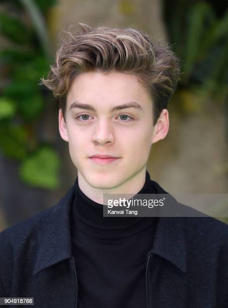 George Smith of New Hope Club attends the 'Early Man' World Premiere at the BFI IMAX on January 14 2018 in London England