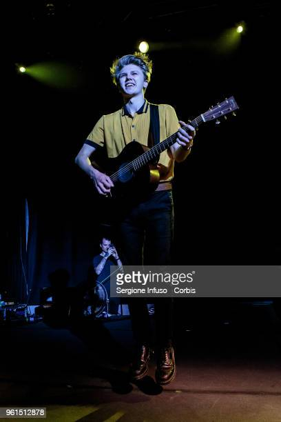 George Smith of New Hope Club opens for The Vamps at Alcatraz on May 22 2018 in Milan Italy