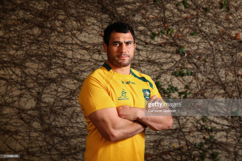 Australian Wallabies Media Session
