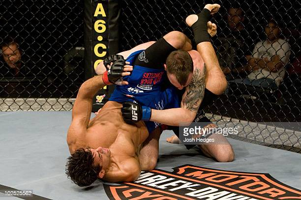 George Sotiropoulos def George Roop Submission 159 round 2 during UFC 101 at Wachovia Center on August 8 2009 in Philadelphia Pennsylvania