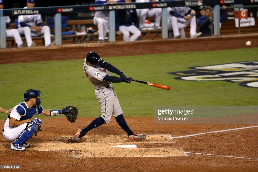 World Series - Houston Astros v Los Angeles Dodgers - Game Six : ニュース写真