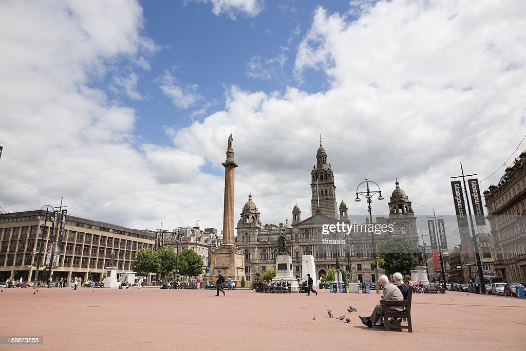 George Square, Glasgow : Stock Photo