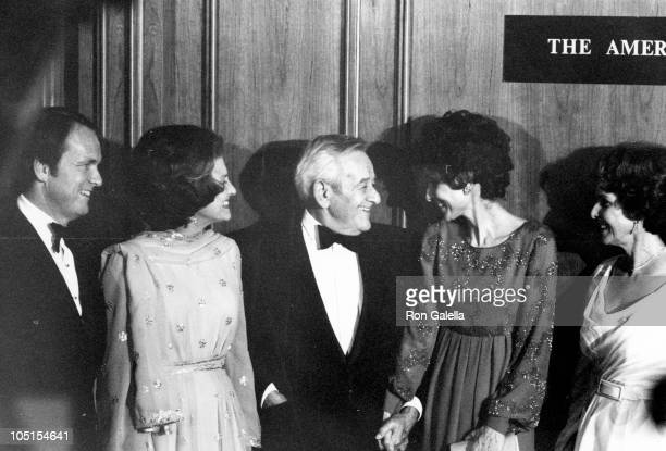 George Stedus Jr Betty Ford William Wyler and Audrey Hepburn