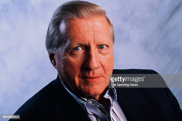 George Steinbrenner of the New York Yankees poses for a photo on July 26 1998