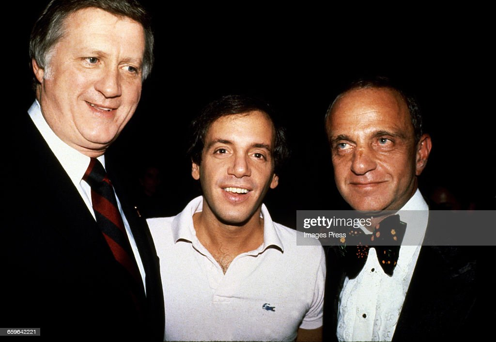 George Steinbrenner, Steve Rubell and Roy Cohn circa 1979 in New York City.
