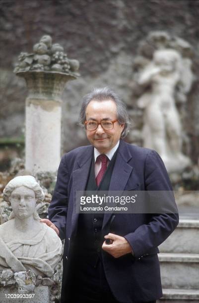 George Steiner is a French writer and literary critic. Milan, April 20, 2000.