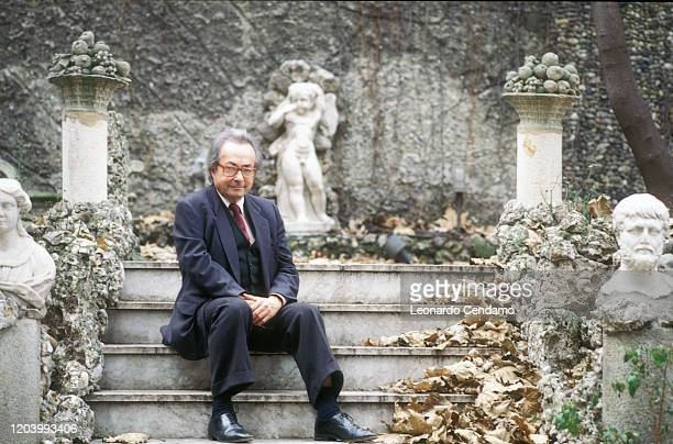 George Steiner is a French writer and literary critic Milan April 20 2000