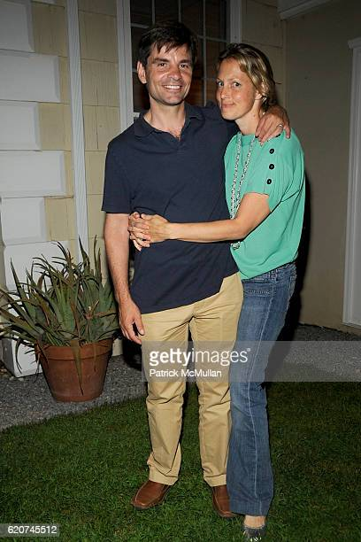 George Stephanopoulos and Alexandra Wentworth attend DreamWorks Pictures Screening of GHOST TOWN and After Party Hosted by SARA and PATRICK HANDREKE...