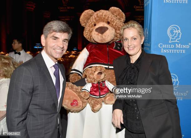 George Stephanopoulos and Alexandra Wentworth attend the Child Mind Institute 2017 Child Advocacy Award Dinner at Cipriani 42nd Street on November 20...