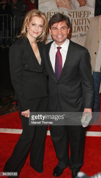 George Stephanopoulos and Alexandra Wentworth attend the New York premiere of the movie It's Complicated held at the Paris theater in Manhattan on...