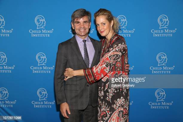 George Stephanopoulos and Ali Wentworth attend Child Mind Institute 2018 Child Advocacy Award Dinner at Cipriani 42nd Street on November 19 2018 in...