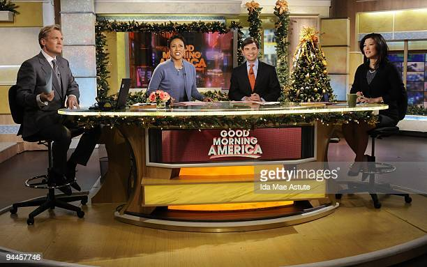 AMERICA George Stephanopoulos debuts as coanchor of GOOD MORNING AMERICA 12/14/09 GOOD MORNING AMERICA airs MondayFriday on the Walt Disney...