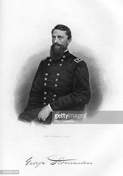 George Stoneman Union cavalry general 18621867 Whilst in command of the cavalry corps of the Army of the Ohio Stoneman was captured by the...