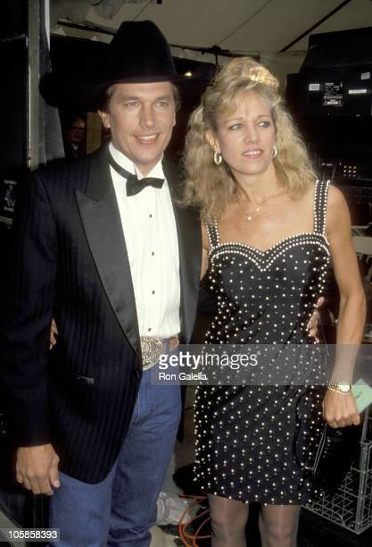 George Strait and Norma Strait during 26th Annual Academy of Country Music Awards at Universal Ampitheater in Universal City California United States