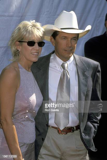 George Strait and Norma Strait during The 35th Annual Academy of Country Music Awards Arrivals and Press Room at Universal Amphitheater in Universal...
