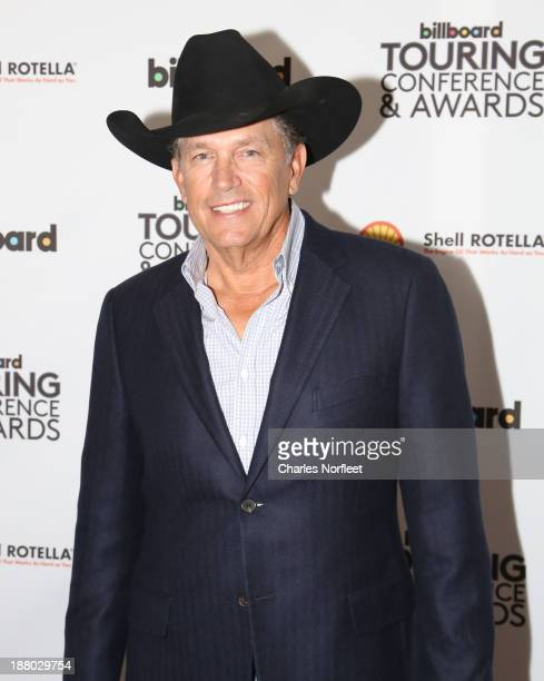 George Strait attends the 10th Anniversary Billboard Touring Conference Awards at The Roosevelt Hotel on November 14 2013 in New York City