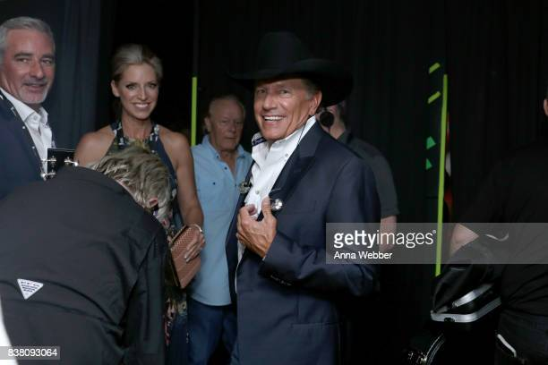 George Strait attends the 11th Annual ACM Honors at the Ryman Auditorium on August 23 2017 in Nashville Tennessee