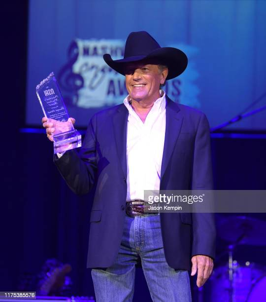 George Strait attends the 2019 Nashville Songwriters Awards at Ryman Auditorium on September 17 2019 in Nashville Tennessee